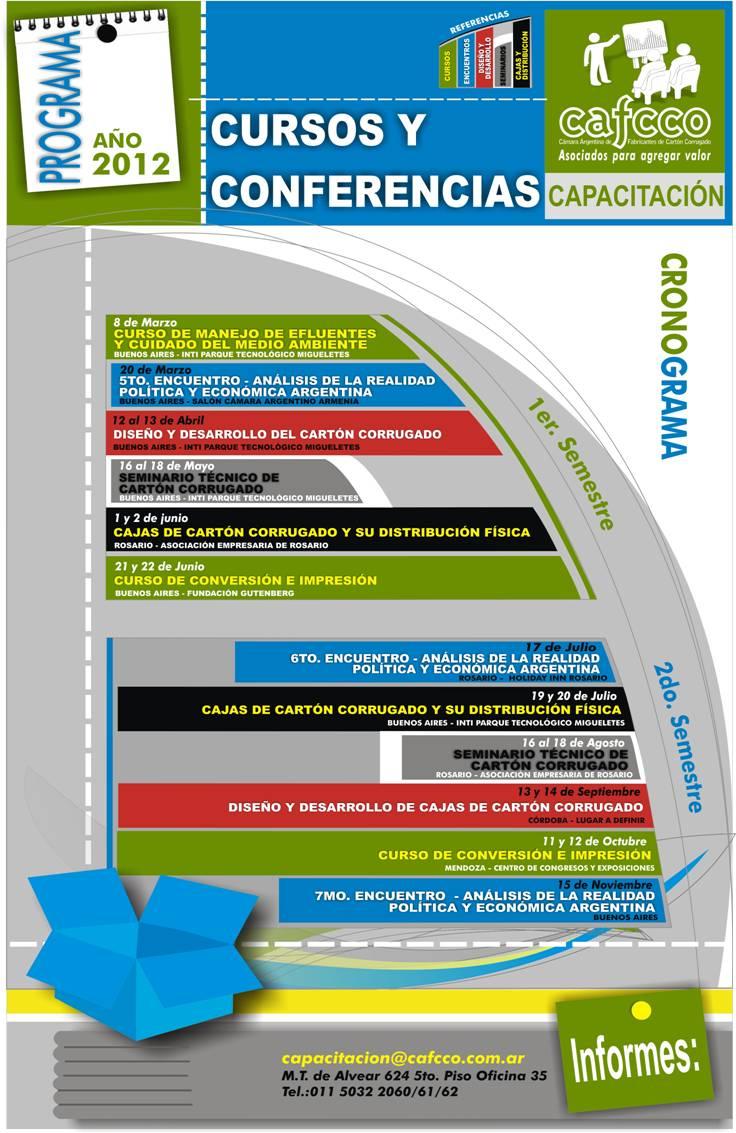 camara 2012 Cursos y Conferencias de CAFCCo Año 2012