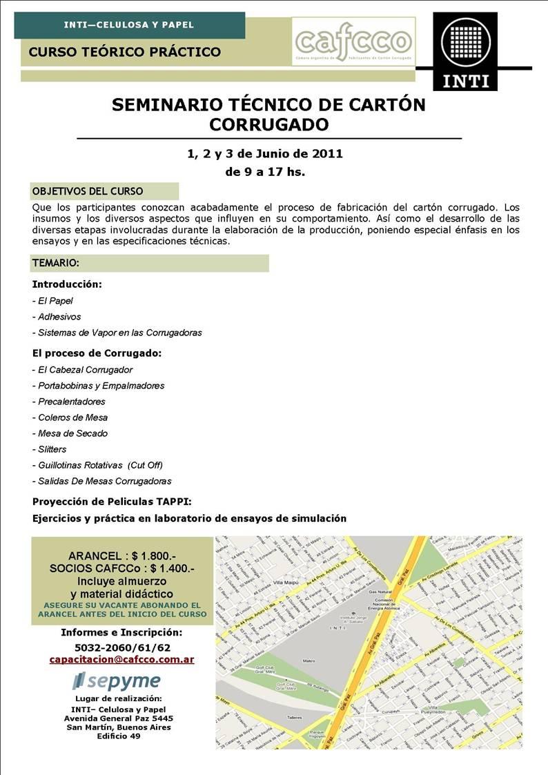 Seminario Tecnico de CArton Corrugado 2011